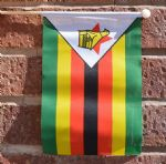 ZIMBABWE - HAND WAVING FLAG (MEDIUM)